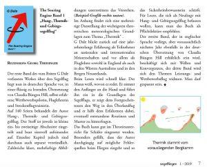 The Soaring Engine - Rezension, Segelfliegen Magazin, Januar 2019